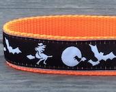 Halloween dog collar 1 in wide