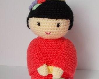 Suki the kokeshi doll