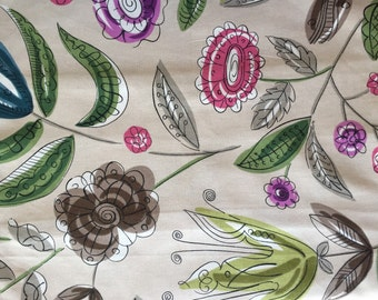 2 Pillow Covers 18x18-Free US Shipping - Neutral Floral