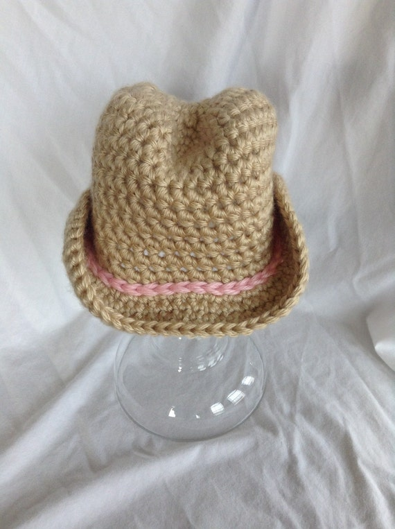 Baby Girl Cowboy Hat Crochet