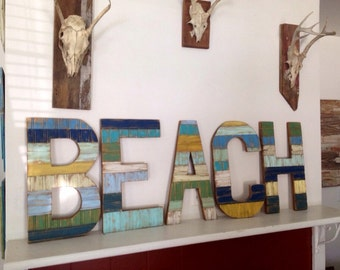 Rustic Wall Decor - BEACH