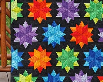 Night Sky Print Quilt Pattern by Jaybird Quilts