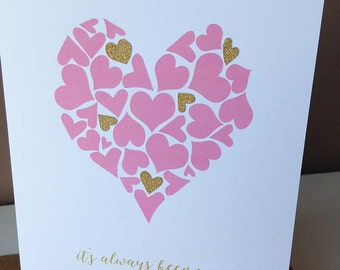 It's Always Been You - Anniversary Love Wedding Card