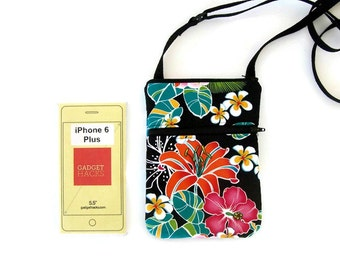 Cell Phone Case, Cell Phone Purse, Small Purse, iPhone 6 Plus Bag