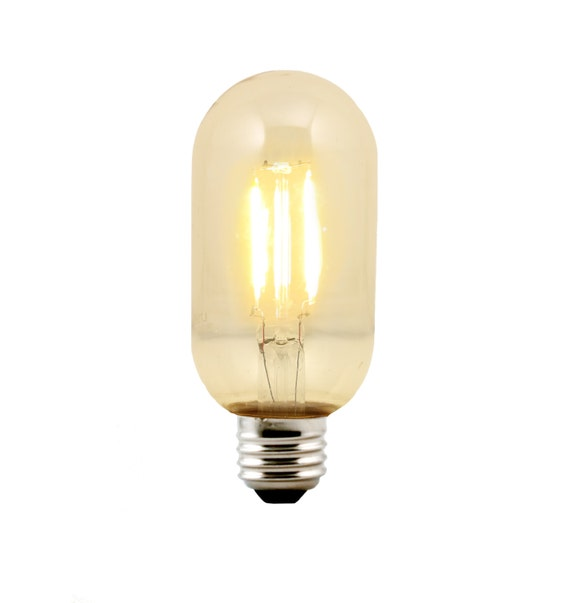 LED T14 Radio Style Bulb Medium Base E26 - Replacement for Urban Chandy incandescent bulb