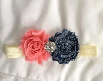 Country Coral Headband