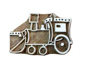 Tractor / Farming Vehicle Wooden Stamp for Printing - Textile and Paper Printing Stamp - Block Printing Supply