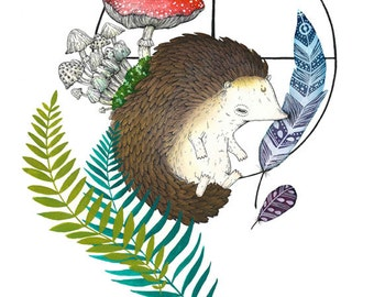 Spirit Animal: Hedgehog