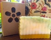Shea Butter Pineapple Bar Soap