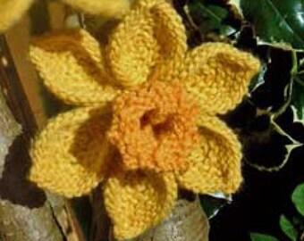 Delightful Daffodils Knitting Pattern