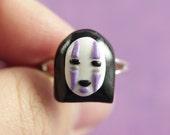 Spirited Away inspired No Face spirit ring
