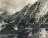 Vintage Postcard Screenprint