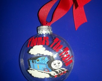 Personalized Thomas the Train Christmas Ornament