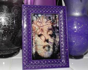 Marilyn Precis Marble Glass Art