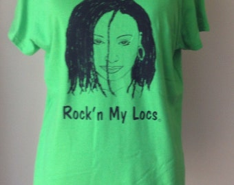 Locs Green T Shirt
