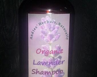 Organic Lavender Shampoo//Lavender Shampoo//All Natural Organic Lavender Shampoo
