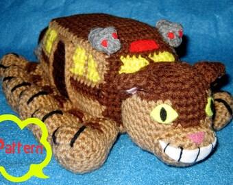 PATTERN: Crochet Ghibli - Catbus Amigurumi