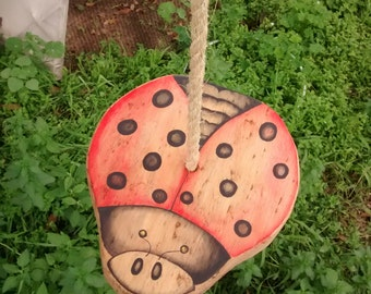 Disc Swing / Heirloom Tree Swing / Wiwiurka / Wooden swing / Made to order