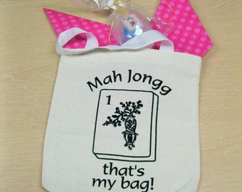 """Mahjong"""" soap in a tote"""""""