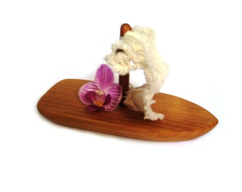 Wooden Toy Boat.  Kids Wood Bath Toy. Waterproof toy for play in bath and outside.