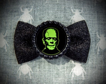 Electric Monster hair bow