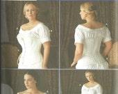 Simplicity 7215 UNCUT Fashion Historian Martha McCain Civil War Undergarments Sizes 14 - 20