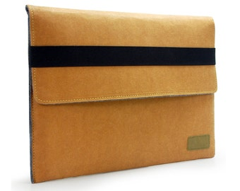 iPad Air Case iPad Air Sleeve Kraft Paper & Felt Cover for iPad Air Bag iPad Air Cover iPad Bag iPad Wallet Custom Made KE50