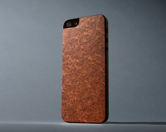 Redwood Burl iPhone 5/5s Real Wood Skin - Made in the USA - FREE Shipping