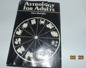 Vintage 1969 Astrology For Adults Hardcover Book Joan Quigley HCDJ Horoscope