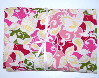 Pack n Play Fitted Cotton Sheet - Pink Floral