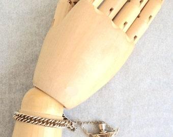 Vintage Perfume Charm Bracelet-UNIQUE!