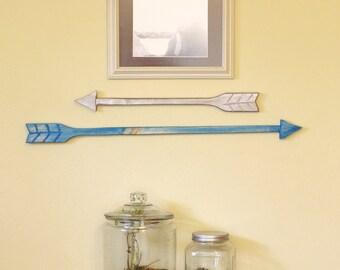 Arrow Wall Art - Arrow - Wood Arrows - Hook Rack