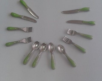 Dollhouse Miniature Kitchen Decoration cutlery