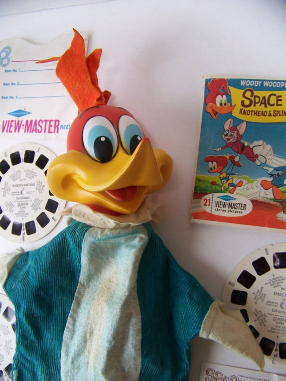 vintage woody woodpecker toy 1