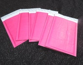 Super Sale! 20 6 x 10 HOT PINK KRAFT Quality Bubble Mailer Self Seal Envelopes size #0 6x10,Bubble mailing shipping mailers, Rigid Mailers