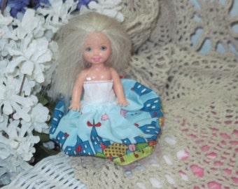 1994 Walking Kelly Barbie little sister Doll /:)S