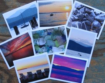 Lake Champlain Vermont Greeting Cards