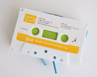 Zippered Cassette Tape Wallet - Pass It On