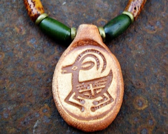 American Indian style necklace 20 inch