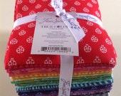 TULA PINK--True Colors--Fat Quarter Bundle of 20--free U.S. shipping
