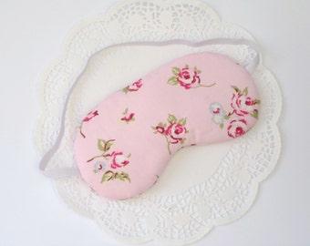 Vintage Floral Pink eyemask
