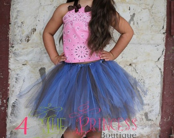light pink cow girl tutu outfit, cowgirl tutu outfit