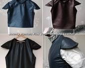Genuine Leather Flak Vest for Bounty Hunters Mandalorian Jango Fett
