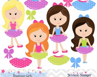 INSTANT DOWNLOAD, Boutique Clipart and Vectors for personal and commercial use
