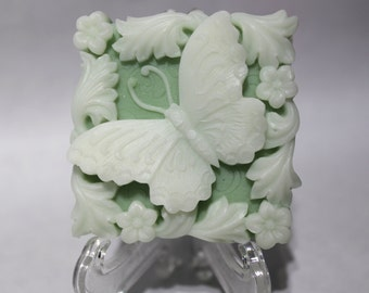 Jasmine Scented Butterfly Goats Milk Soap