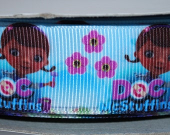 """1"""" Printed Polyester Grosgrain Ribbon by the Yard"""