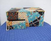 Vintage French Fabric Cov...