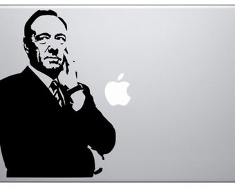 Frank Underwood House of Cards Macbook Decal Sticker