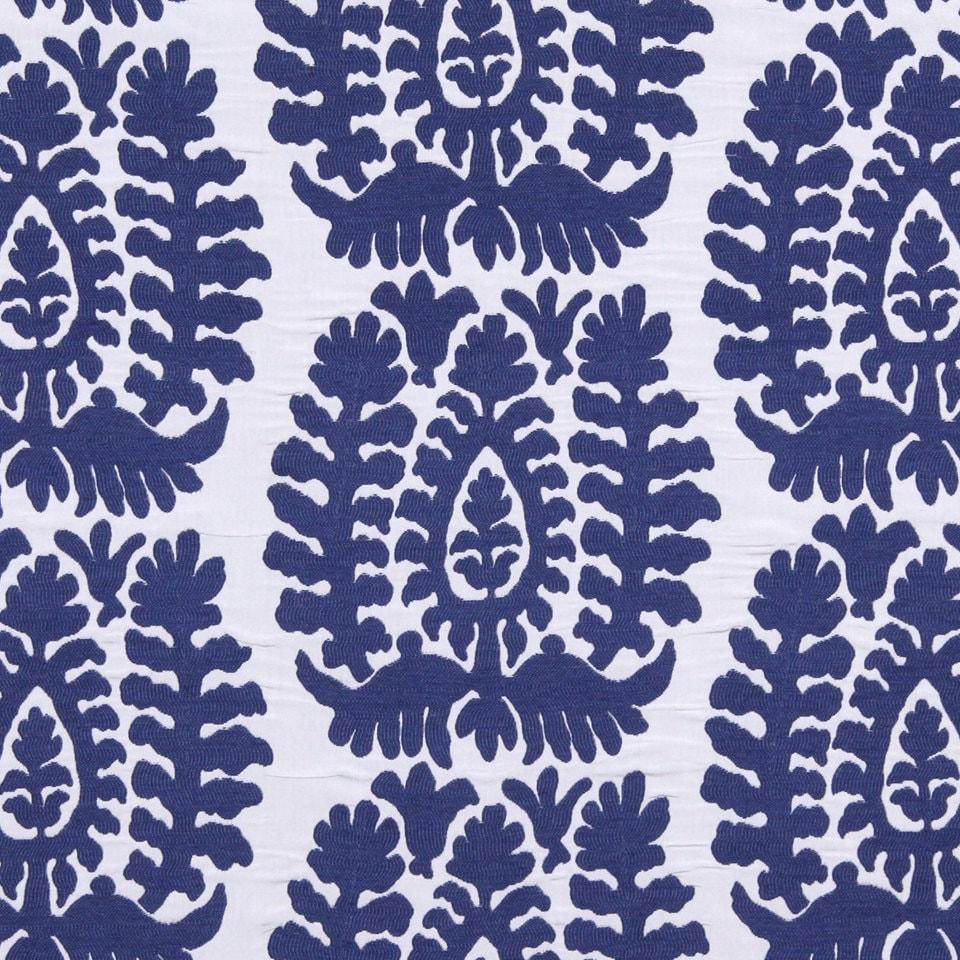 cobalt blue ikat upholstery fabric modern blue white home. Black Bedroom Furniture Sets. Home Design Ideas