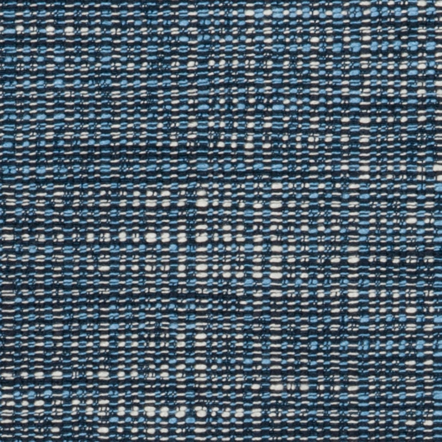 Dark blue tweed upholstery fabric light blue material for for Upholstery fabric